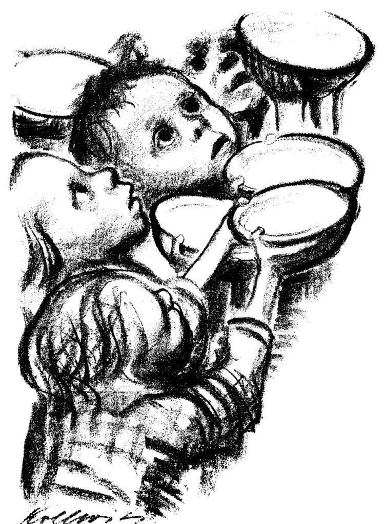 Kollwitz children starve