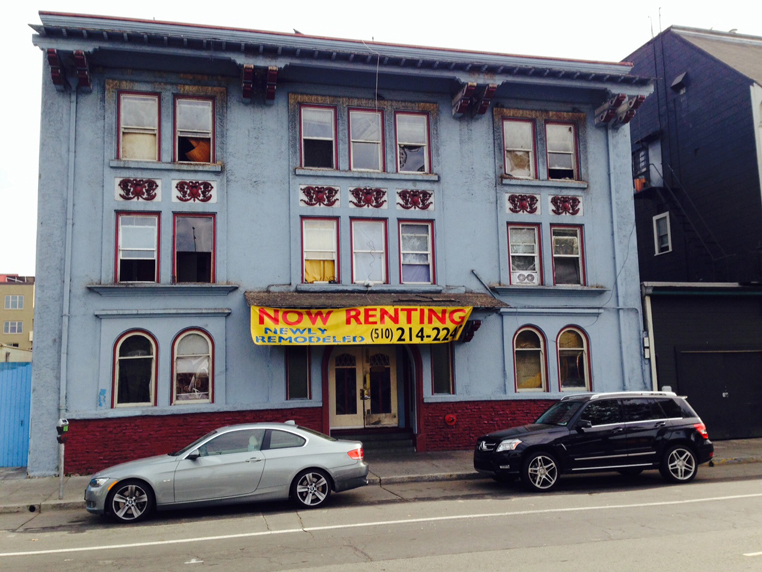 The West Grand Hotel has been sued by the Oakland City Attorney for slum conditions and dangerous code violations.