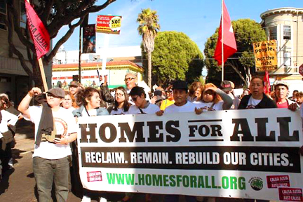 """Homes For All: Reclaim, Remain, Rebuild Our Cities."""