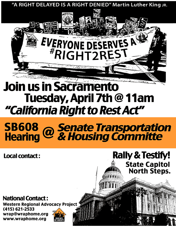 Testify to the Senate, Rally and Press Conference! TUESDAY, 11 am April 7, 2015