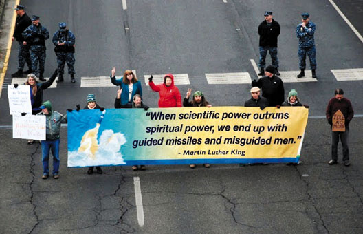 """When scientific power outruns spiritual power, we end up with guided missiles and misguided men."" — Martin Luther King"