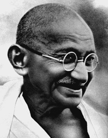 "Gandhi's satyagraha campaigns were based on ""truth-force."""