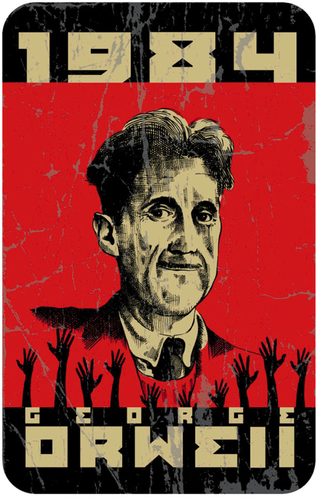 George Orwell's 1984 is a negative utopia and one of the most essential books of our era.