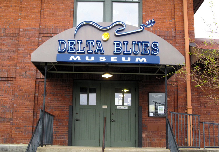 The Delta Blues Museum in Clarksdale, Mississippi, is a fantastic showcase for the blues music that was born in the Mississippi Delta. Ellen Danchik photo