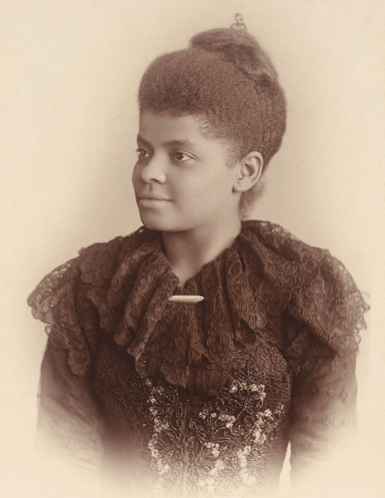 Ida Wells, a brave advocacy journalist, crusaded against lynching. Photo credit: Mary Garrity