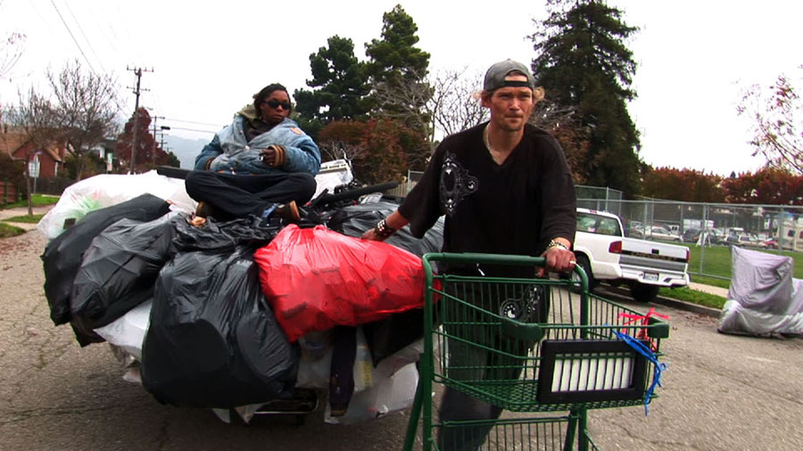 "A scene from the new film, ""Dogtown Redemption,"" a fascinating documentary about the lives of recyclers in the East Bay."